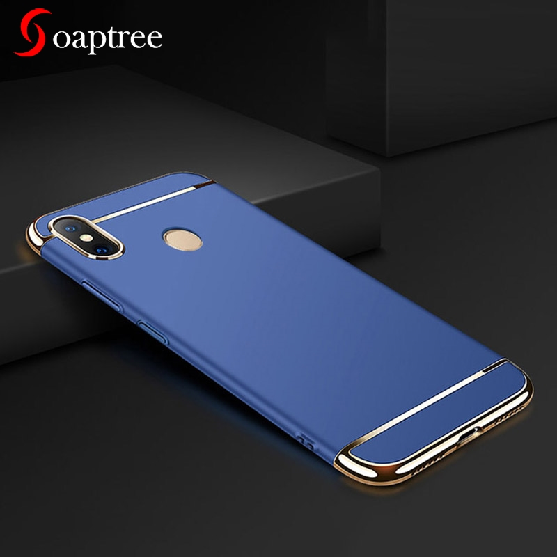 Soaptree Phone Case For Xiaomi MI A1 A2 Cases For xiaomi Redmi note 5 Plating Plastic Mobile Phone Bag Covers Housings Hoods in Fitted Cases from Cellphones Telecommunications