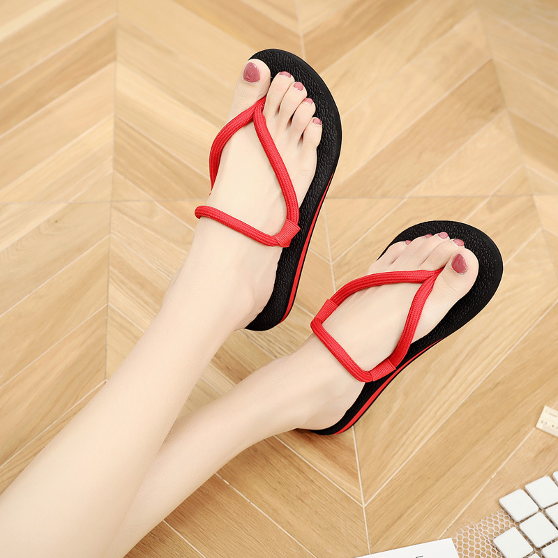 2018 Lady Rubber Soles Non-slip Half Slippers Female Lazy Slippers Female Summer Fashion Outdoor Women Beach Shoes Flip Flops