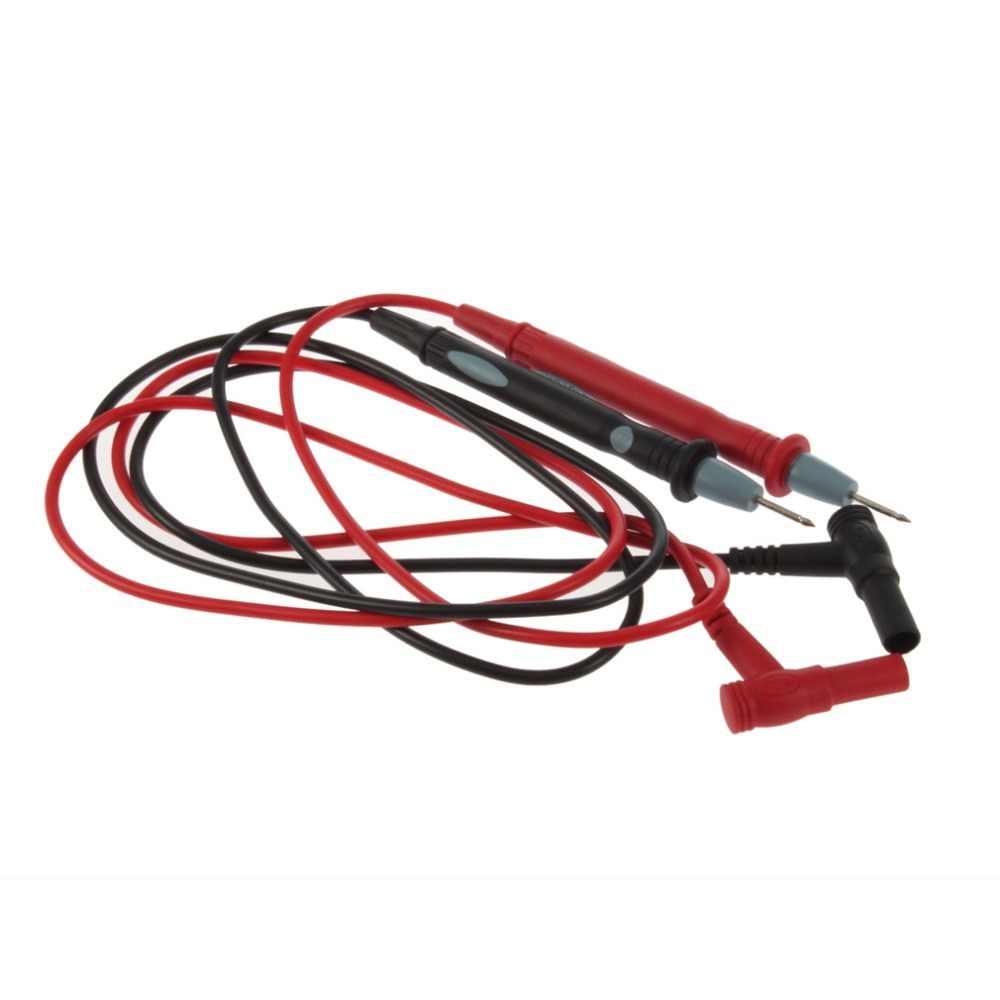 1 쌍 범용 디지털 멀티 미터 미터 테스트 리드 프로브 와이어 펜 케이블 상단 판매 2 xelectric 전압계 전류계 케이블 테스터