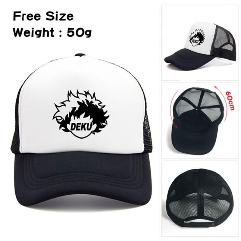 My Hero Academia Hat Baseball Caps Snapback Caps Hats No Hero Academia Casual Adjustable Sun Mesh Hats Drop Shipping 2 Styles!!