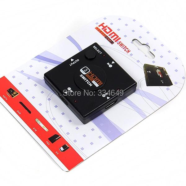 HDMI Splitter HDMI Port for HDTV 1080P Vedio Mini 3 Port HDMI Switch Switcher Best Selling