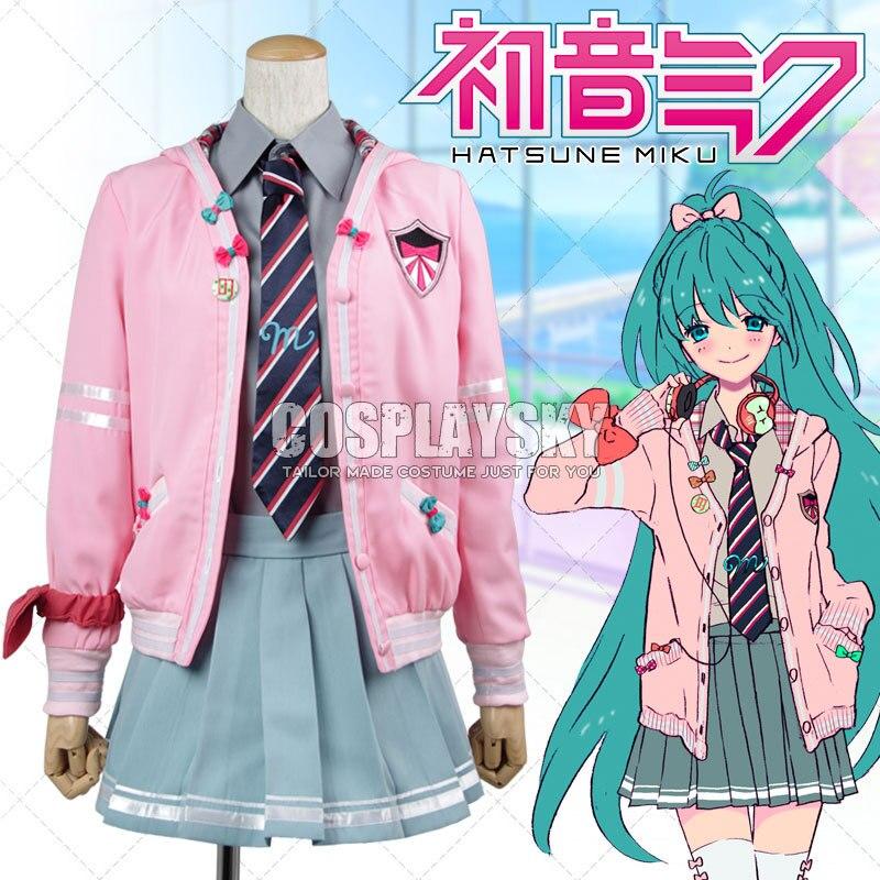 Vocaloid Game Hatsune Miku Cosplay Costume Project DIVA f ...