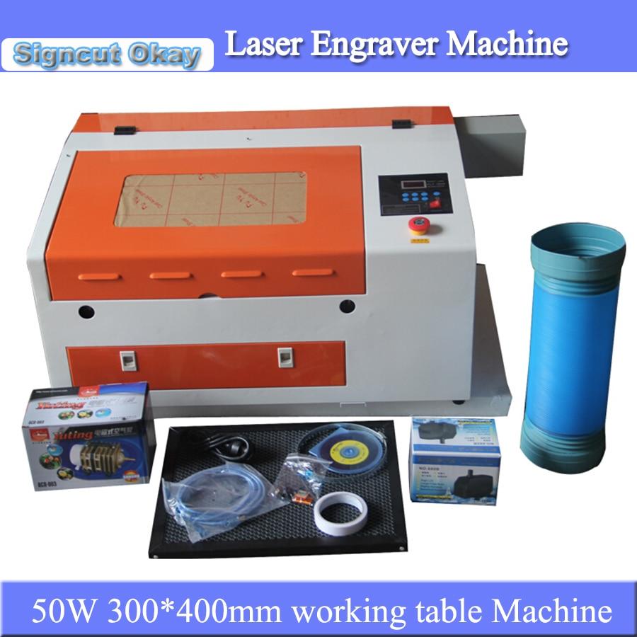 Digital Mini Laser Engraver And Cutting Machine Laser Engraving Machihne 3040 For DIY Crafts Wedding Card Caving
