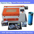 Digital mini laser engraver and cutting machine laser engraving machihne 3040 for DIY crafts wedding card caving