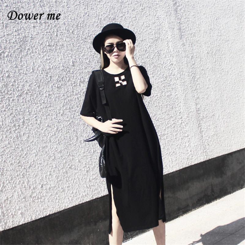 Летние Для женщин тонкий Платье черного цвета vestidos дамы сексуальная выдалбливают Пла ...