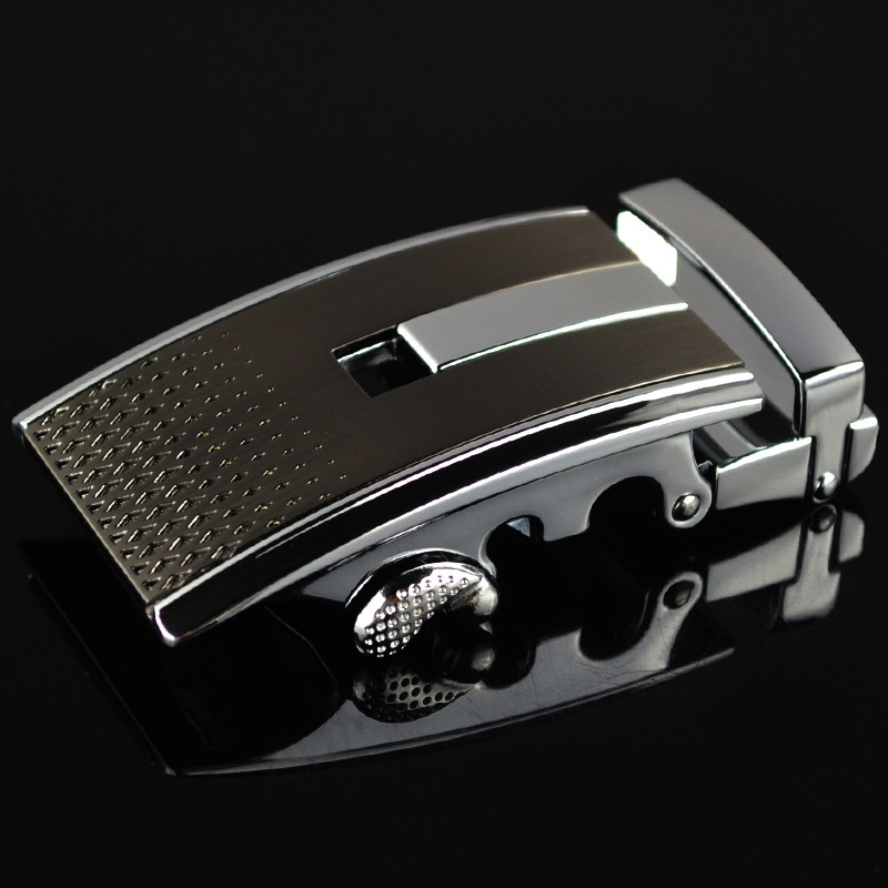 Men's Belt Buckle Automatic Buckling Men Belt Leisure Buckle Alloy Belt Head Luxury Quality Designer Belt Mens LY125-0320