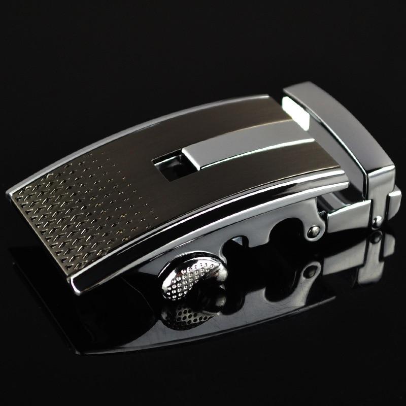 Men's Belt Buckle Automatic Buckling Men Belt Leisure Buckle Alloy Belt Head Luxury Quality Designer Belt Mens LY125-0320