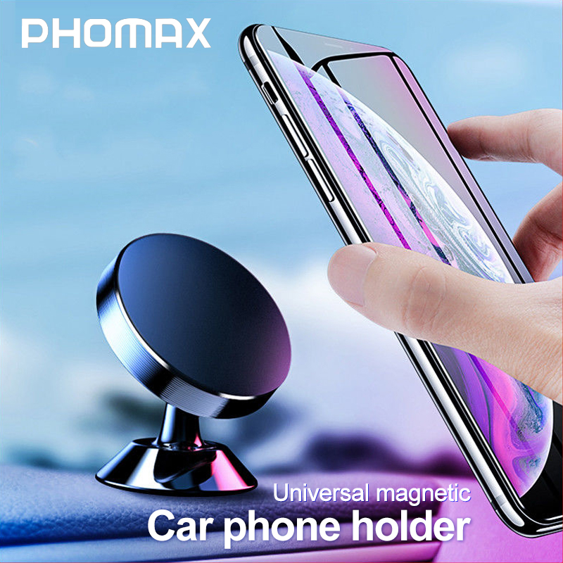 PHOMAX 360 Degree Magnetic Universal Phone Holder In The Car For IPhone X 9 8 Xiaomi  Samsung Huawei  All Models Of Car Bracket
