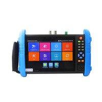 New 7 Inch Five In One IP CCTV Tester Monitor Ip Analog AHD TVI CVI Camera