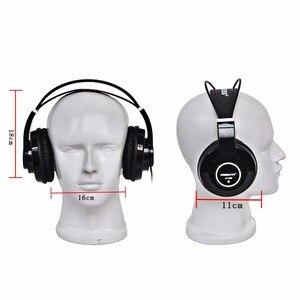 Image 3 - HP288 ハイファイヘッドフォンセミオープン過耳 3.5 6.3 プラグイン調整と軽量ヘッドバンドハイファイヘッドセットヘッドフォン