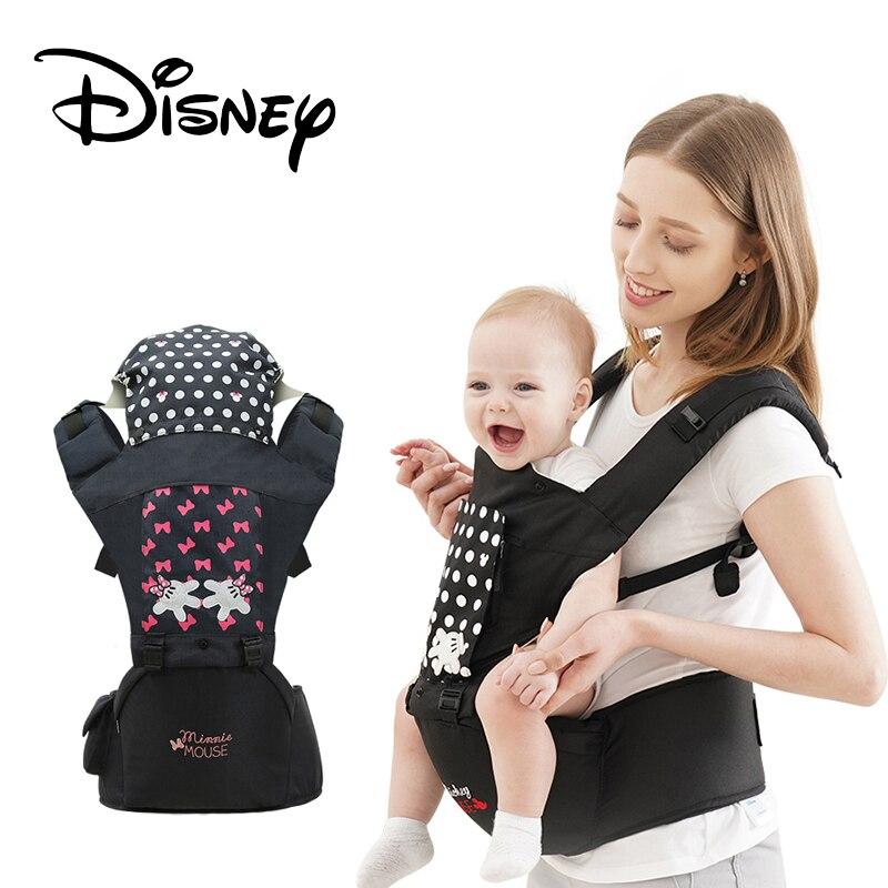 Disney Новый дышащий эргономичный рюкзак переноска портативный младенческий Хипсит для переноски детей кучи с отсасывающей подкладкой Детск