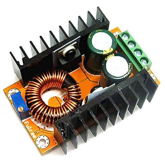 DC-DC Boost Adjustable Module Power Converter 12V Rise 48V High Current High Efficiency DC Up 60V Adjustable