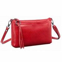 Women Crossbody Bags Genuine Leather Messenger Cow Designer Small Summer Envelope Lady S Bag Fashion Zipper
