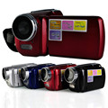 12MP 720 P HD Digital Video Camera com 4 x Zoom digital, 1.8 LCD Screen Mini DV filmadora digital, Frete grátis