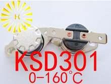 5 шт x ksd301 0 160 градусов c 10a 250v термостат резистор как