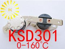 Купить с кэшбэком KSD301 35 degrees C  10A 250V KSD-301 Normally Closed Temperature Switch Thermostat x 10PCS FREE SHIPPING