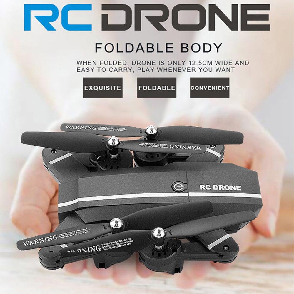 8807 w 8807 Elfie Drone MiNi Pieghevole Selfie Drone con HD Droni con foto/videocamera WiFi FPV Quadcopter RC Elicottero visuo Xs809hw x101hw