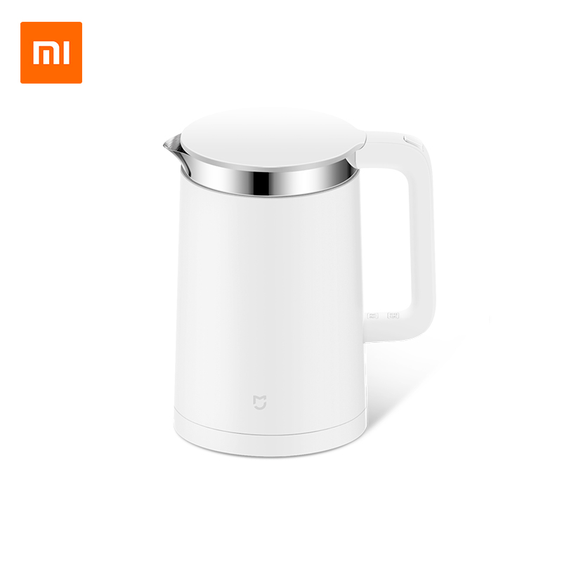 цена Original Xiaomi Electric Kettle Smart Constant Temperature Control Water Mi Home 1.5L Thermal Insulation Teapot Mobile APP