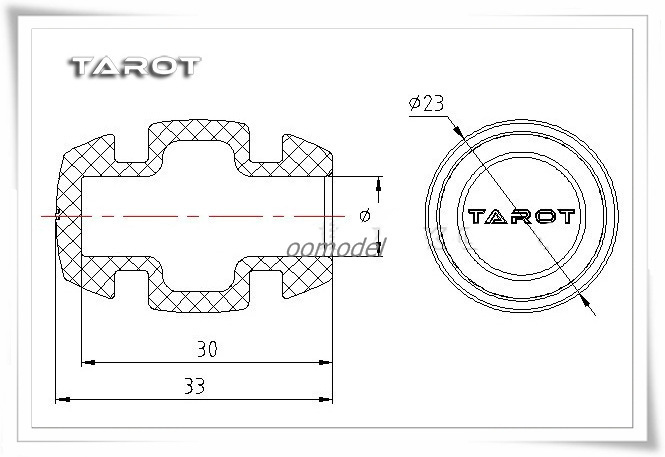 Tarot-TL100B10-Middle-sized-Multi-Axis-Landing-Skid-Shock-Sets-4pc (2)