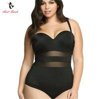Ariel Sarah 2017 One Piece Swimsuit XXXL Large Size Swimwear Bathing Suit Women Plus Size Swimsuit