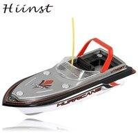 HIINST tàu drop NEW RED Đài Phát Thanh Điều Khiển Từ Xa Siêu Mini Speed Boat Động Cơ Kép Kid Toy 2 S35 AUG1425