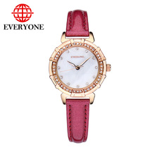 fashion Women watch luxury brand luminous waterproof fashion diamond shell ultra thin women s quartz genuine