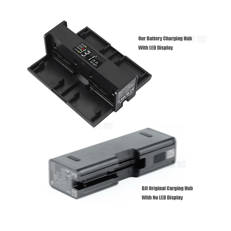 Image 2 - Mavic Air Charger For DJI Mavic Air Intelligent Flight Battery Charging Hub Parallel Charging Board DJI Battery Balance Manager-in Drone Battery Chargers from Consumer Electronics