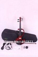 4/4 hohe qualität 6 #4 saiten rote Elektrische violine