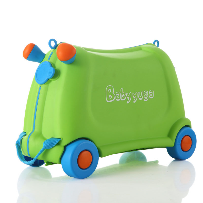 Box Luggage Suitcase Travel Baby Children Check-Box Girl Kids Locker Gift Boy Bear 50KG