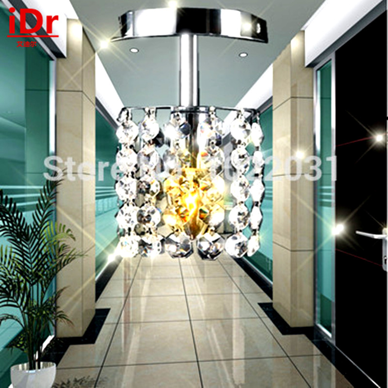 luxury Modern lamps design 1 head E14 crystal lighting best selling chandelier high quality Corridor lights Dia100xH220mm