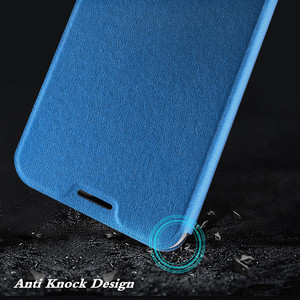Image 3 - MOFi oryginalne etui z klapką do Huawei Honor 10 miękkie etui do Honor10 PU skóra do Honor Case Book TPU silikonowe Conque