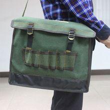 Электрик аппаратный инструментарий сумка на плечо водонепроницаемый ткань Оксфорд мульти организовать карманы сумка для хранения портативный Рабочий аксессуар