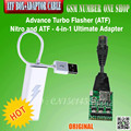 ATF Nitro box With Network Activation With Sl3 Network Activation For Nokia+atf 4 in 1 adaptor free shipping