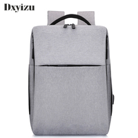 New Classic Fashion Leoisure USB Charging Backpacks With Headphone Jack Business Laptop Men Backpack Travel School College Bag