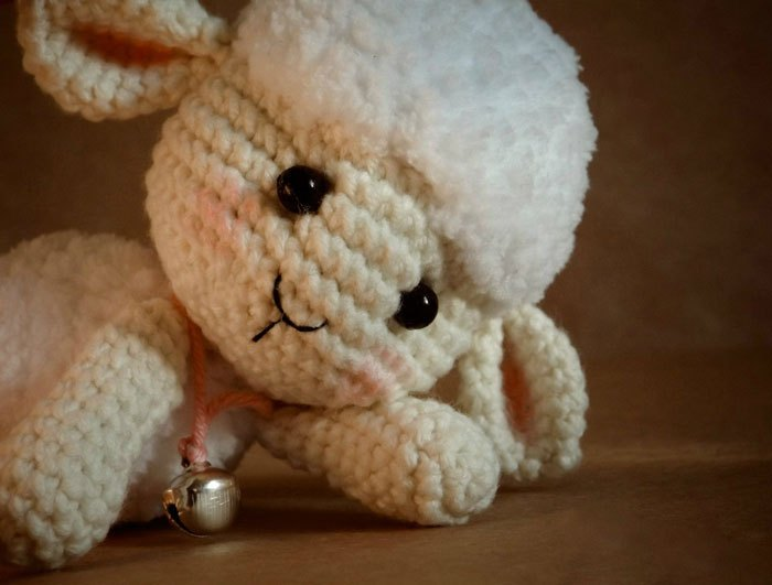 ergahandmade: Crochet Sheep + Free Pattern + Video Tutorial   531x700