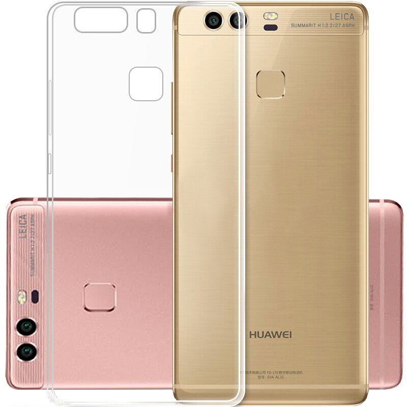 For Huawei P8 Lite 2016 Case Ultra Thin Crystal Clear Transparent Soft TPU Silicone Phone Cover Case Funda For Huawei P9 Lite