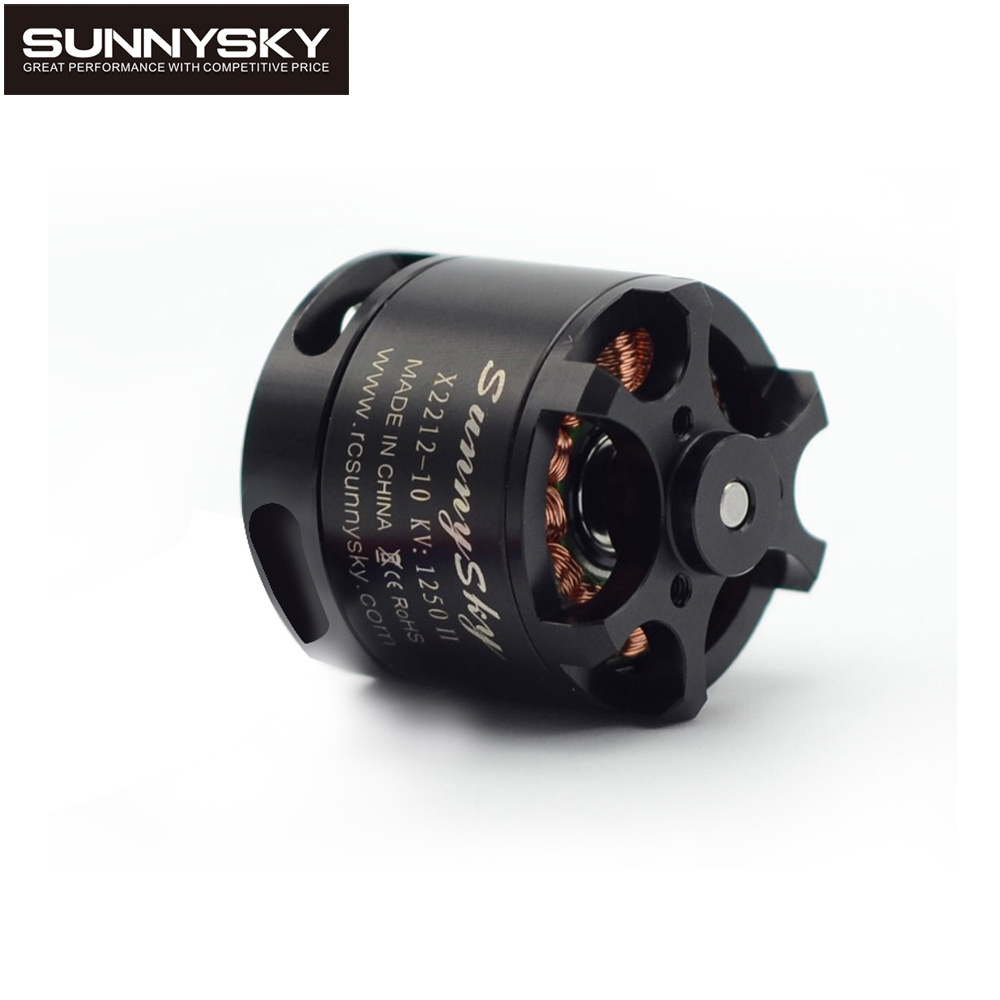 1pc Sunnysky X2212 980KV 1250KV 1400KV Outrunner Brushless Motor 2212 For RC Quadcopter Multicopter
