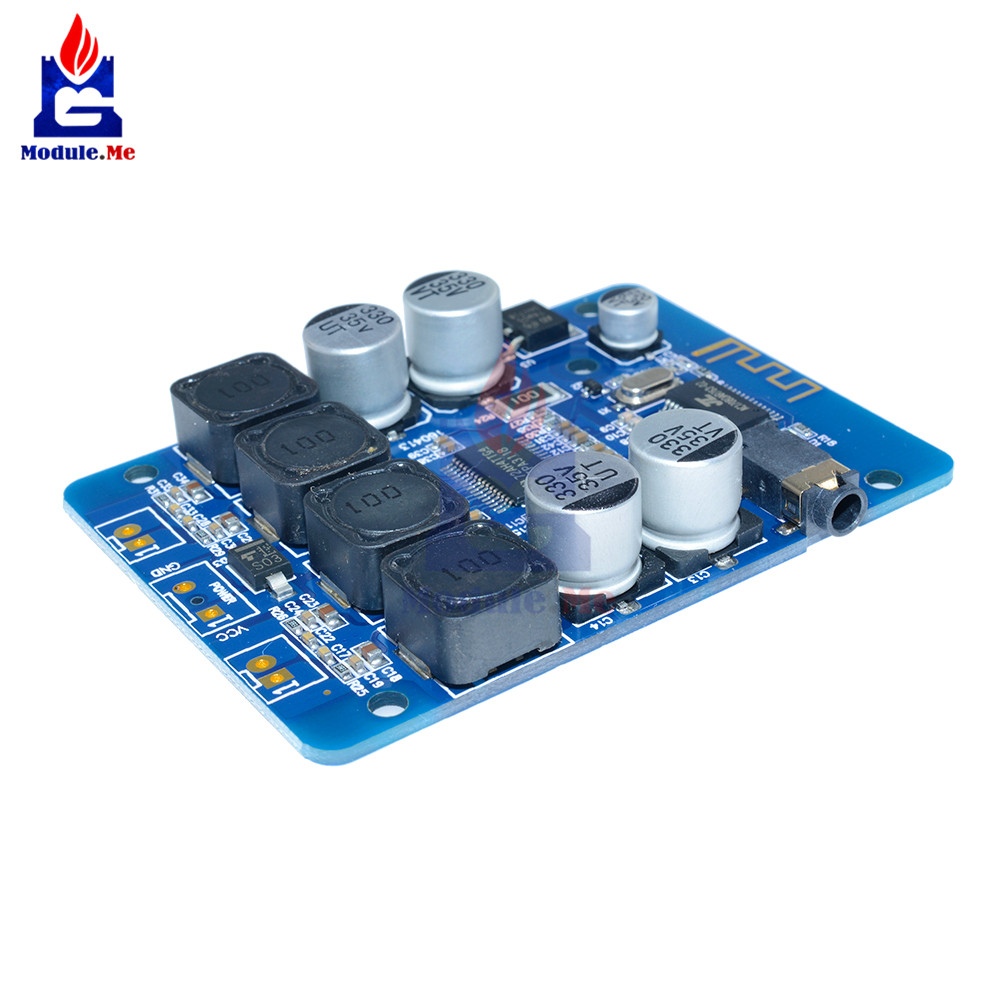 Integrated Circuits New Tpa3118 2x30w 8-26v Dc Stereo Bluetooth Digital Amplifier Board For Rc Toys Model Careful Calculation And Strict Budgeting Active Components
