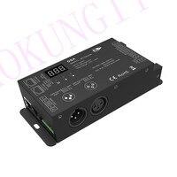 1024 dots DMX to SPI Converter DSA full color LED strip Decoder Engineering Decoder DMX SPI singnal Decoder support WS2811 2812