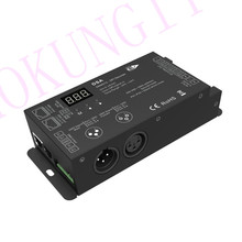 1024 nokta DMX SPI dönüştürücü DSA tam renkli LED şerit dekoder mühendislik dekoder DMX SPI sinyal dekoder desteği WS2811 2812