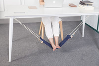 Portable Novelty Mini Office Room Foot Rest Stand Indoor Outdoor Adjustable Desk Feet Hammock