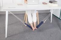 Portable Novelty Mini Office Room Foot Rest Stand Indoor Outdoor Adjustable Desk Feet Hammock