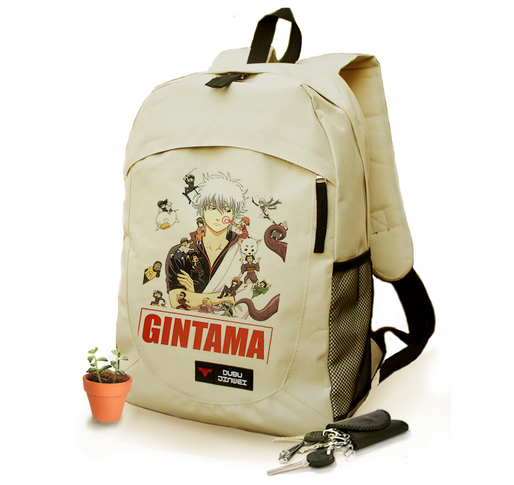 Anime GINTAMA Cosplay Anime Surround Birthday Gift Travel Shoulder Bag Men and Women Backpack