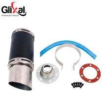 Glixal GY6 50cc 125cc 150cc 7 inch High Performance Racing Exhaust Muffler