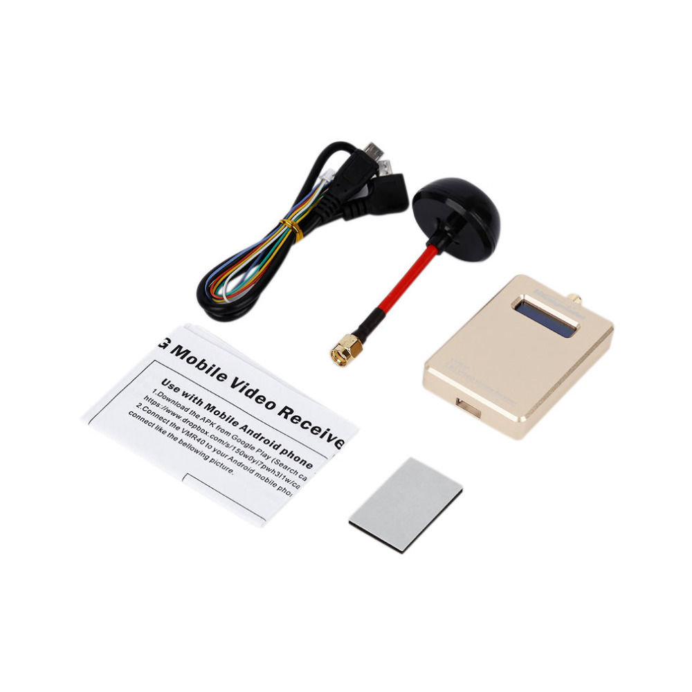 1pcs Golden FPV 5.8G VMB40 40CH Wireless Mobile Video Receiver with OTG Connect