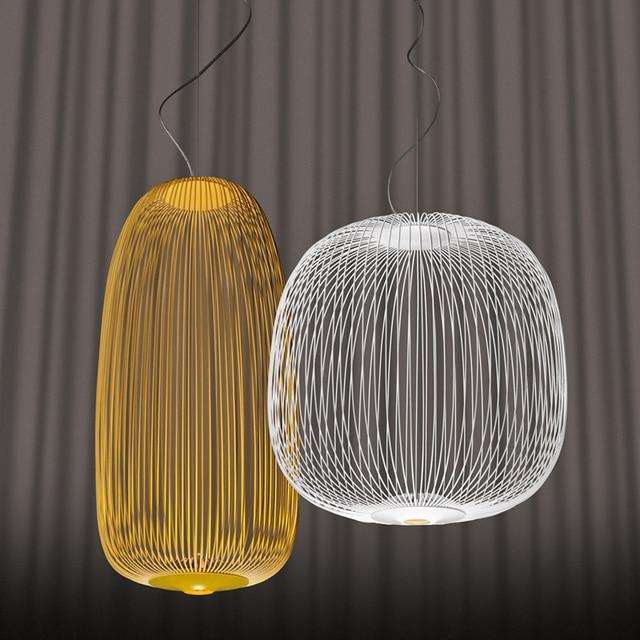 aliexpress.com : acquista design moderno foscarini raggi 1/2 ... - Illuminazione Soggiorno E Sala Da Pranzo 2