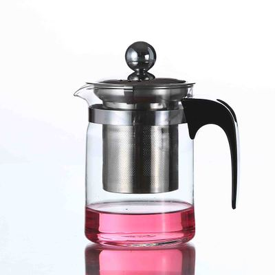 500ml elegant cup stainless steel heat-resistant <font><b>glass</b></font> teapot tea teapot tea cup exquisite shadow