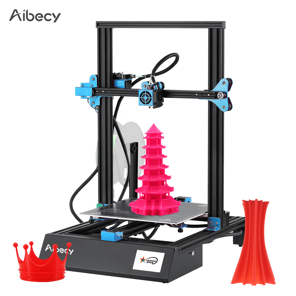 M18 Pro Desktop 3D Printer DIY Kit 300*300*400mm Printing Size Automatic Auxiliary Leveling Resume Print 3.5 Inch Touchscreen(China)