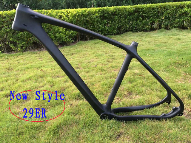 29ER eje pasante estilo Cuadro de Bicicleta de Fibra de Carbono ...
