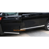 Крышка автомобиля боковой двери отделкой полосы литья поток лампы панель бампер для Mercedes Benz Vito W447 2014 2015 2016 2017 2018